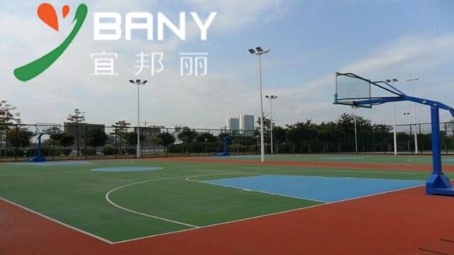 疫情当前上海宜邦丽教你如何判断丙烯酸球场材料的质量优劣