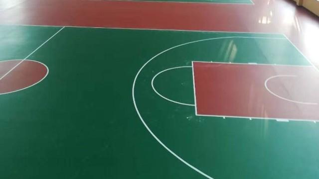 硅PU塑胶球场篮球场画线规格专业知识