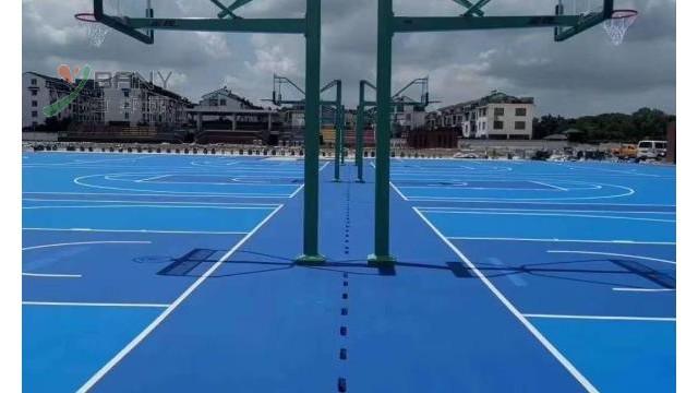 塑胶篮球赛场地网球场表明和规格型号
