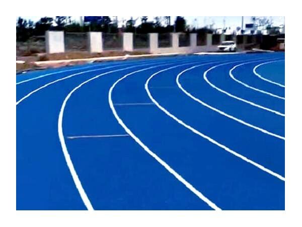 蓝色EPDM颗粒橡胶跑道