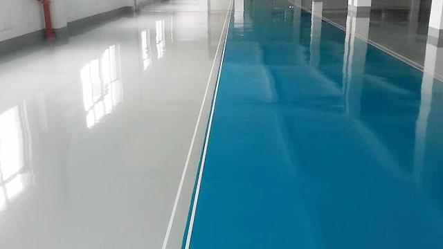 宜邦丽水性环保地坪材料浅谈环氧地坪如何预防变色!