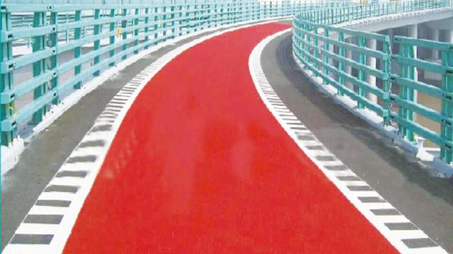 塑胶跑道球场材料全分析之——聚氨酯彩色防滑路面特点及适用范围