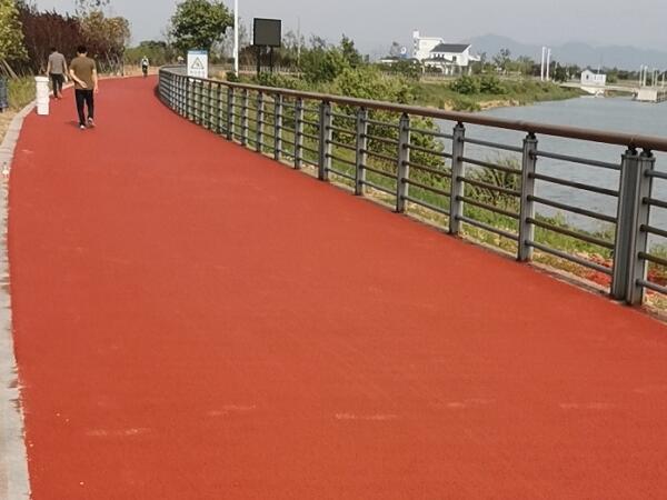 丙烯酸沥青改色步道