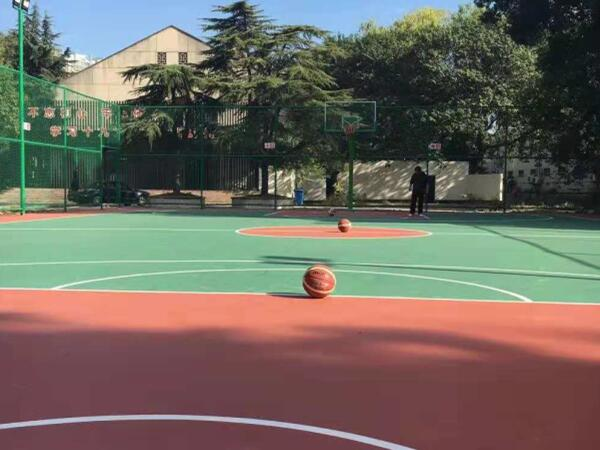 文化宫活动硅PU篮球场