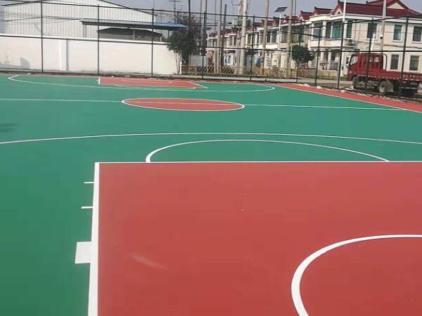 居委会硅PU篮球场