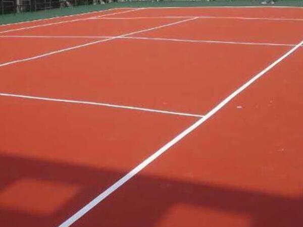 丙烯酸网球场完工效果