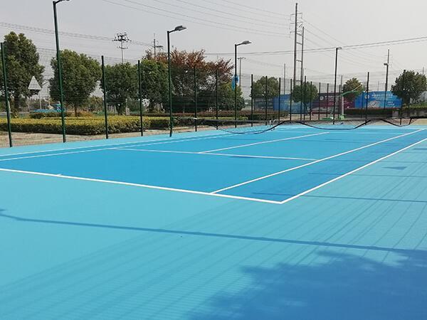 弹丙网球场