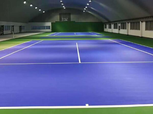室内丙烯酸网球场