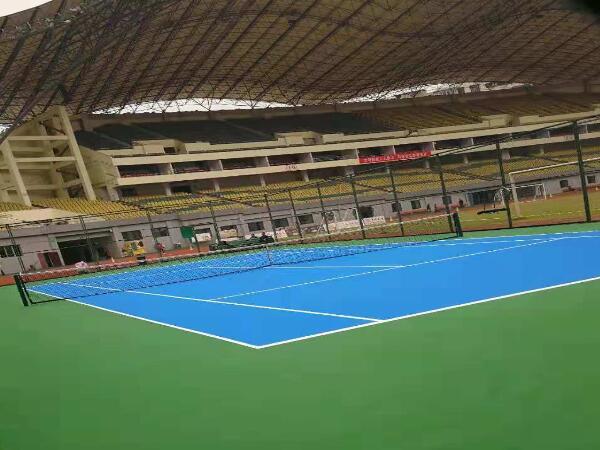 体育馆丙烯酸网球场