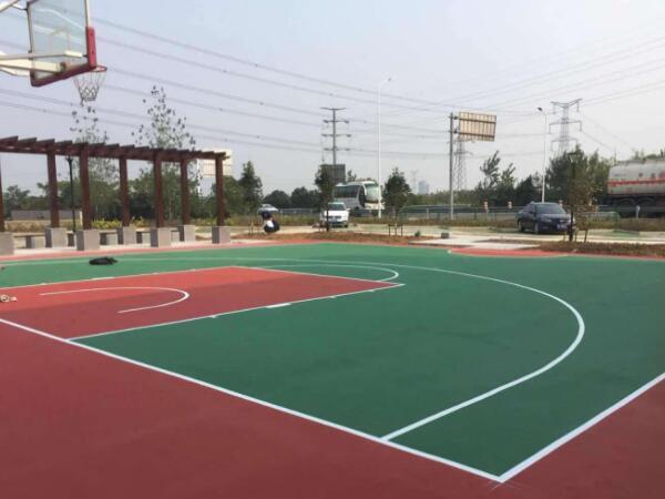 小型丙烯酸篮球场地