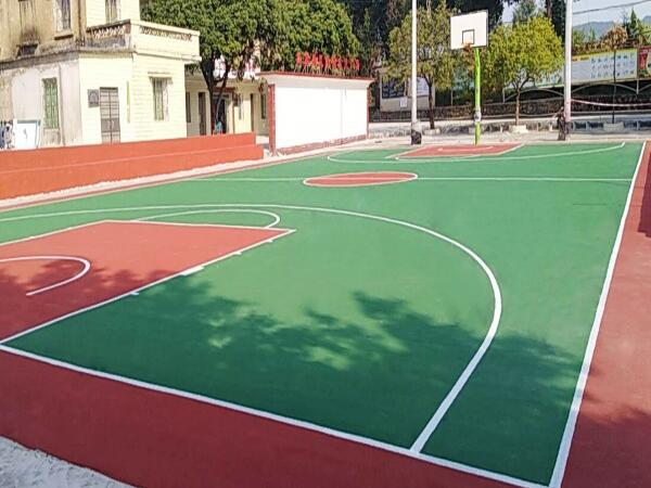 硬地丙烯酸篮球场