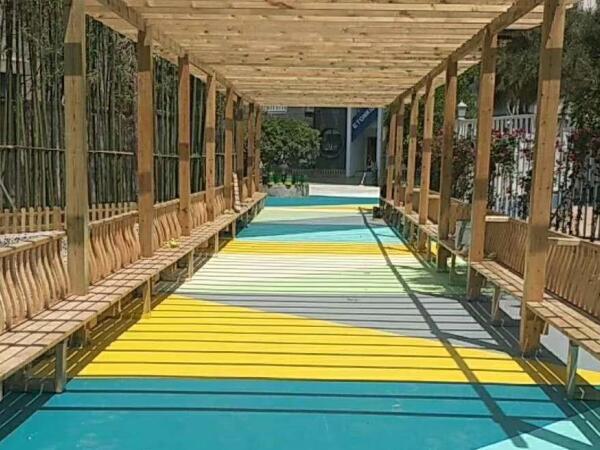 硅PU幼儿园路面